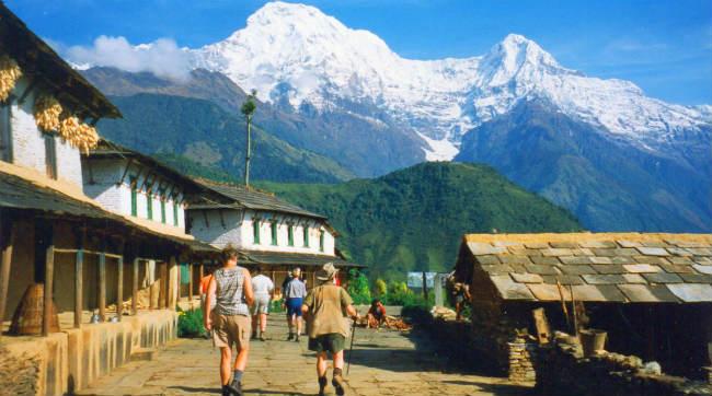 Nepal traveler