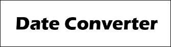 Nepali to English Date Converter