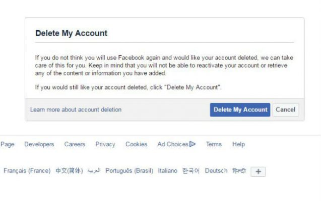 How to Delete Facebook Account - 24.7KB