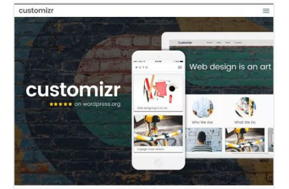 Customizr wordPress business themes