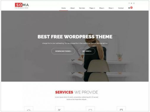 Somelite WordPress busines themes