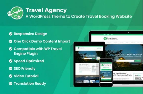 Travel Agency wordpress blogging themes