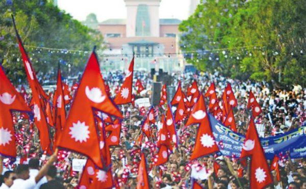 Nepali flag - Must Visit Nepal