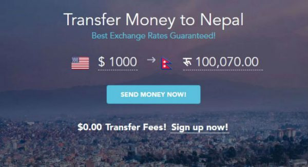 Transfter Money to Nepal ThamelRemit