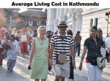 Average Living Cost in Kathmandu