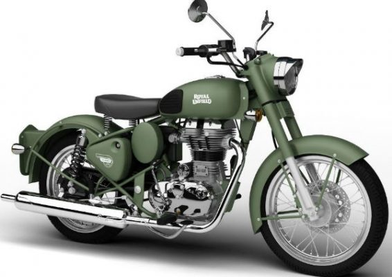 RoyalEnfield Classic Battle Green