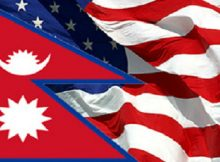 How many Nepalese are in the USA